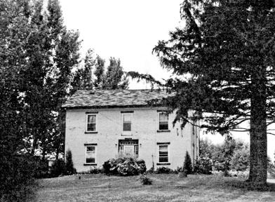 Elias Kinsey house, c. 1855
