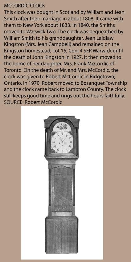 McCordic Clock