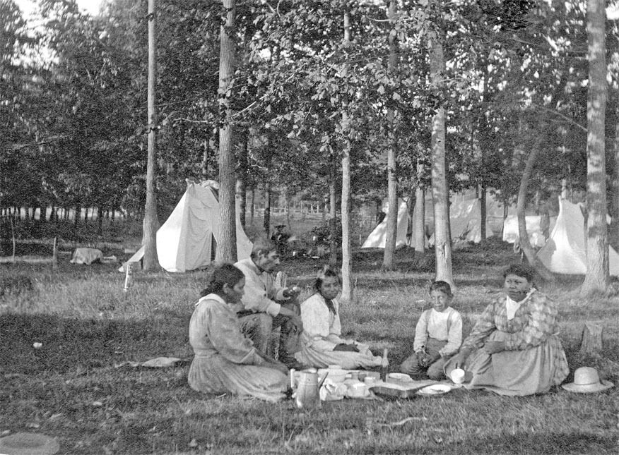Indian Peapickers camp