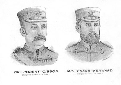 Dr. Robert Gibson and Major Frank Kenward
