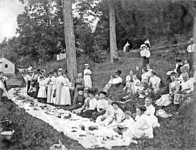Arkona Women's Institute First Picnic, August 12, 1910