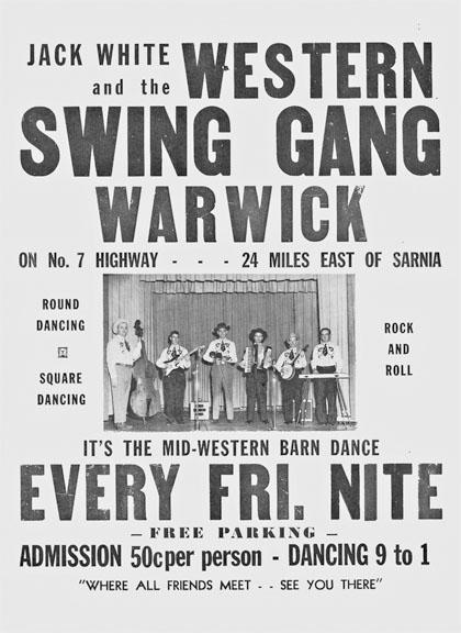 Warwick Barn Dance Poster
