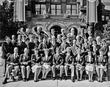 Forest Excelsior Band, Queen's Park, Toronto, 1984