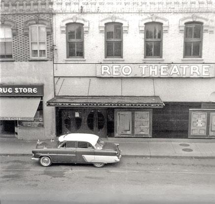 Reo Theatre building, Watford, 1957