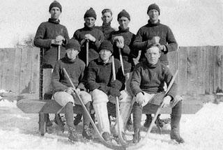 Warwick hockey team 1912