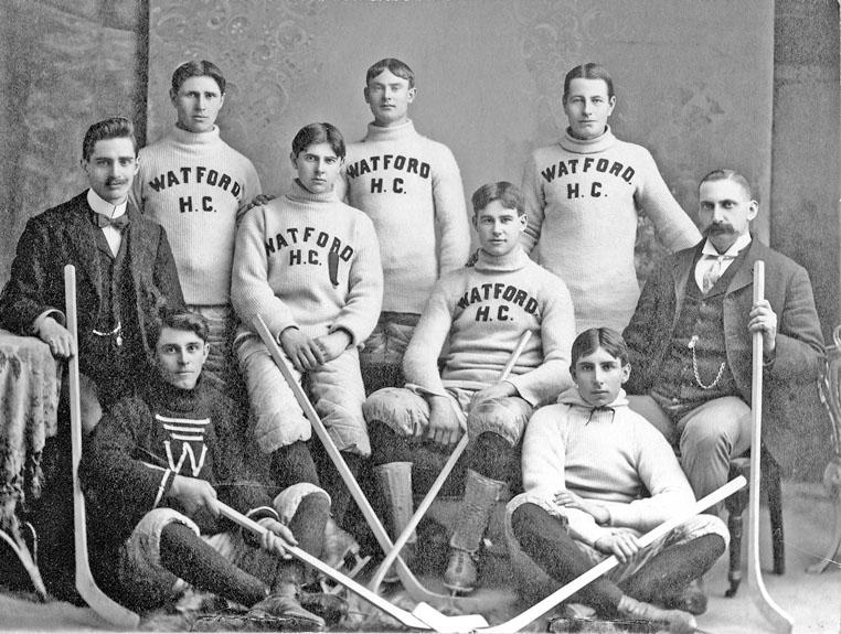 Watford hockey team, 1901