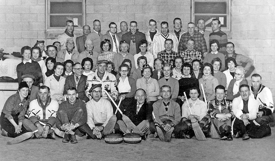 Watford Curling Club 1961