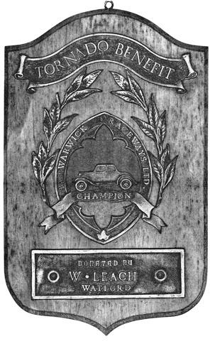 Warwick Raceway Trophy