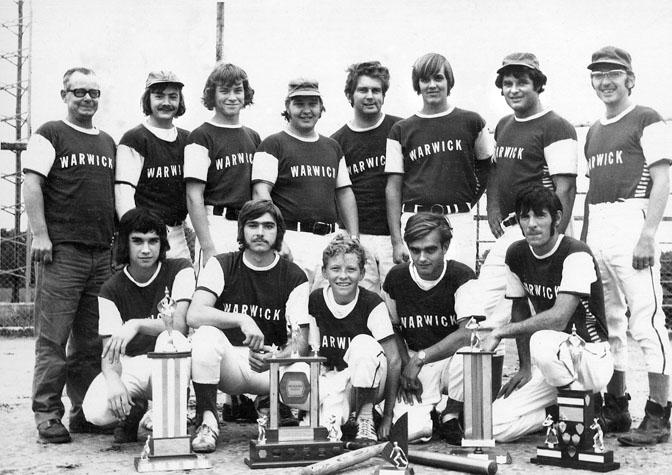 Warwick Champion baseball team.