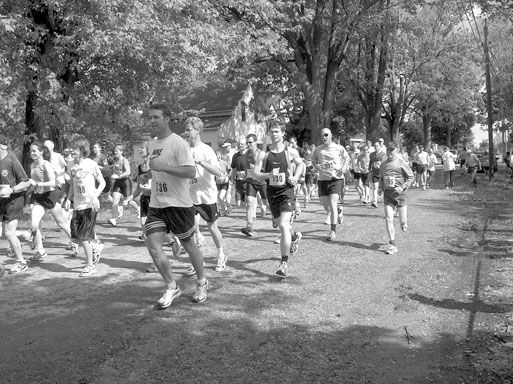 16km. race from Alvinston to Watford, 2007