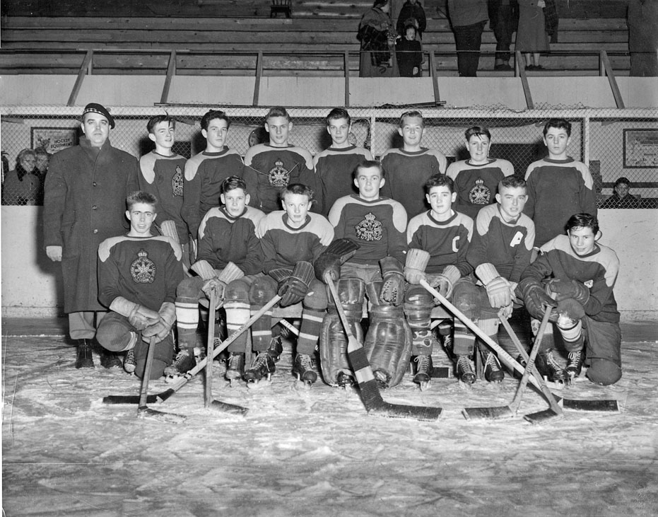Forest hockey team 1955-1956