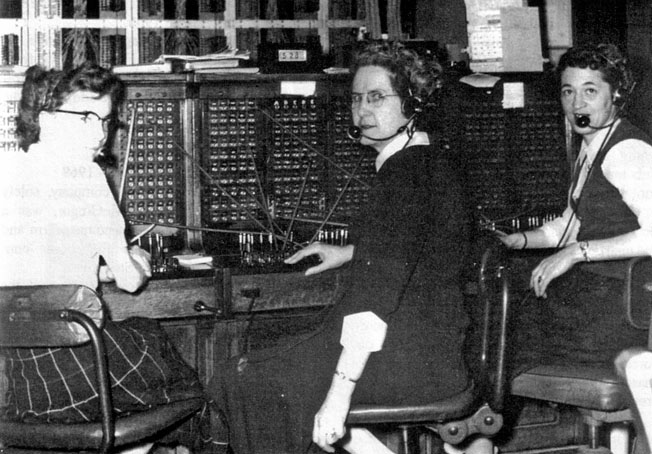People's Telephone office switchboard, Forest