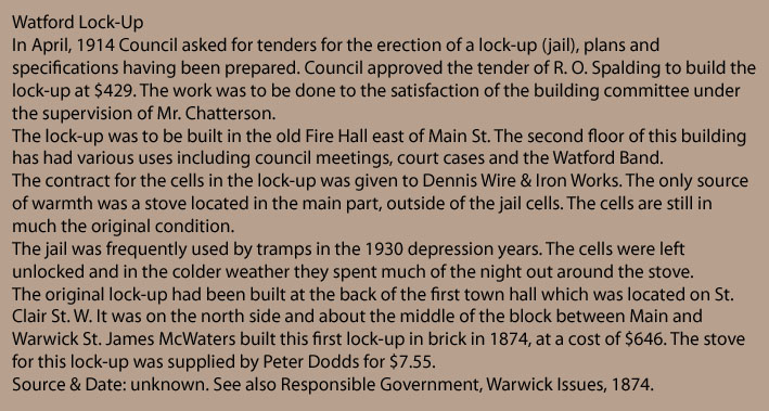 Watford Lock-up