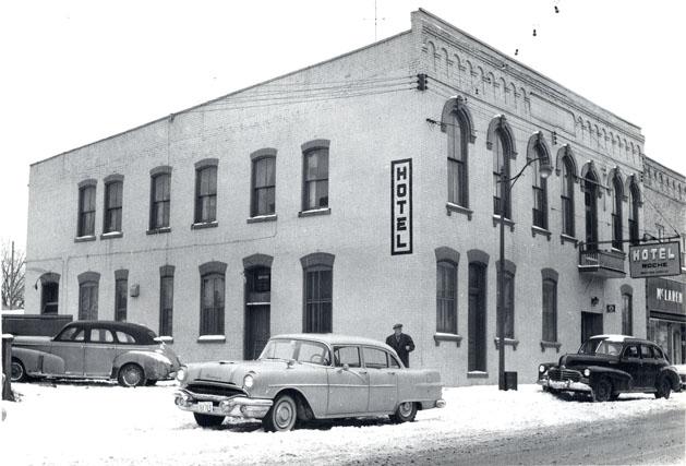 Roche Hotel, Watford 1950s