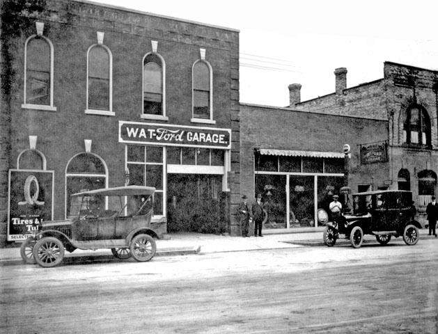 Watford Garage, 1937