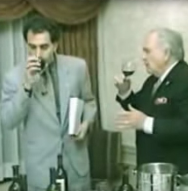 I love wine and I love comedy...Borat's guide to wine tasting is simply hilarious