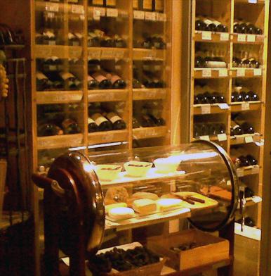 Julius Meinl am Graben: Drinking wine INSIDE supermarket