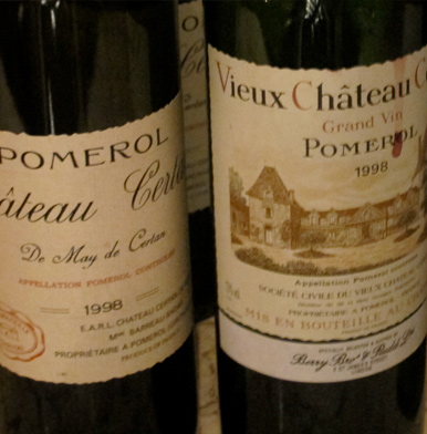 Right Bank Bordeaux 1998 with Jasper Morris, MW
