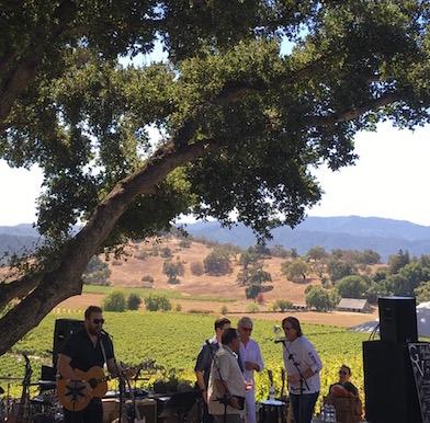 Gargiulo Vineyards: country music meets the vinous bounty of Napa Valley