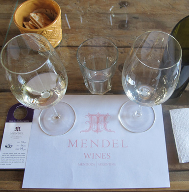 Mendel winery in Mendoza