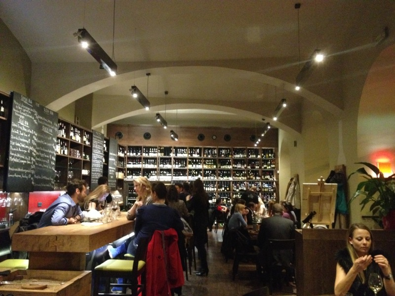 Best wine bars in Prague Vinograf