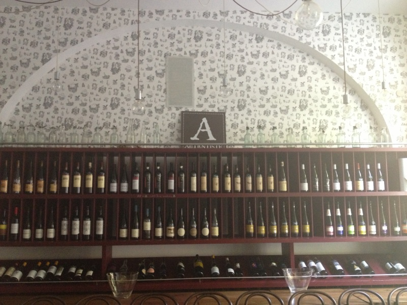 Best wine bars in Prague Veltlin natural wine bar Prague Karlin