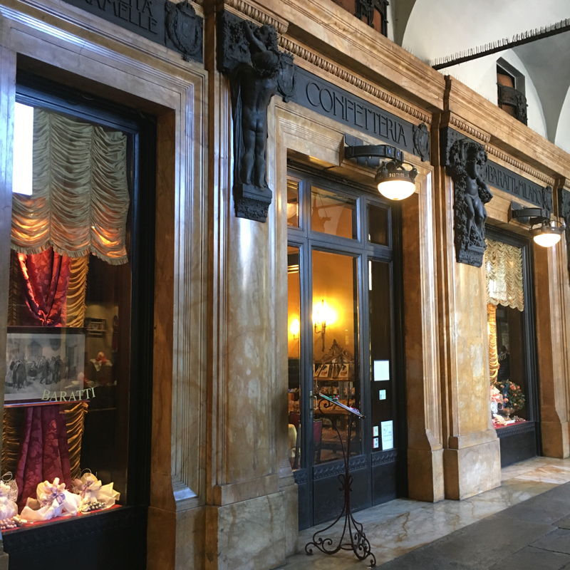 historic cafe in Turin