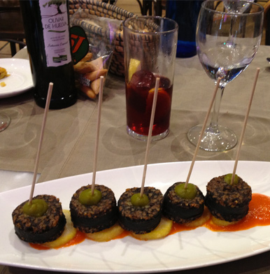 Mesón Cinco Jotas: modern tapas in the centre of Madrid