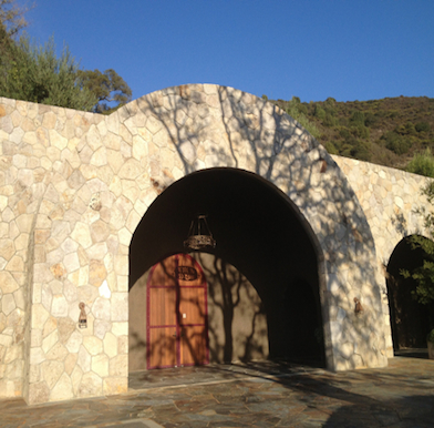 Palmaz winery in Napa Valley - video