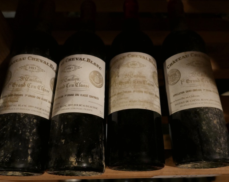 top Bordeaux wine