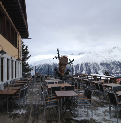 Salastrains: gourmet pizza and honest Italian fare in St Moritz