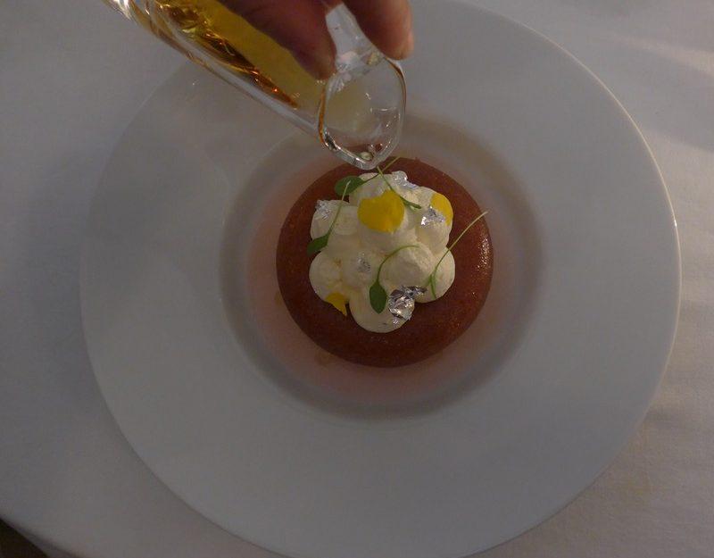 Helene Daroze restaurant in London