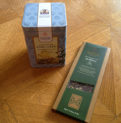 The East India Company: The Staunton Earl Grey & chocolate pairing