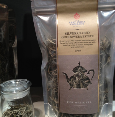 The East India Company: Silver Cloud No 96 white tea from Oodoowera Estate in Ceylon