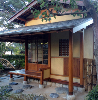 Japanese tea house in the heart of Monaco