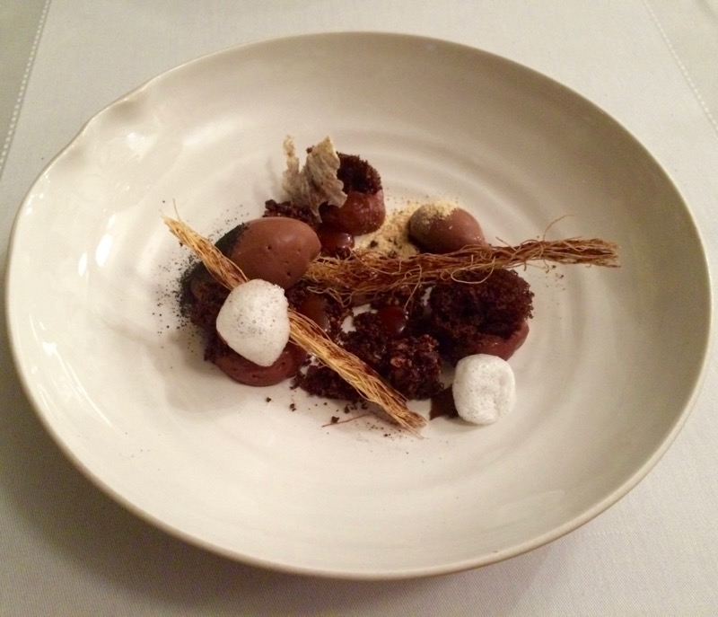 Chocolate dessert at Flaveur in Nice