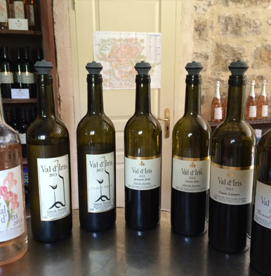 Val d'Iris: wines as the mirror of the female winemaker