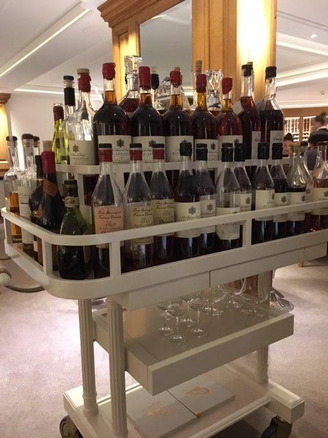 Armagnac at La Vague d'Or St Tropez