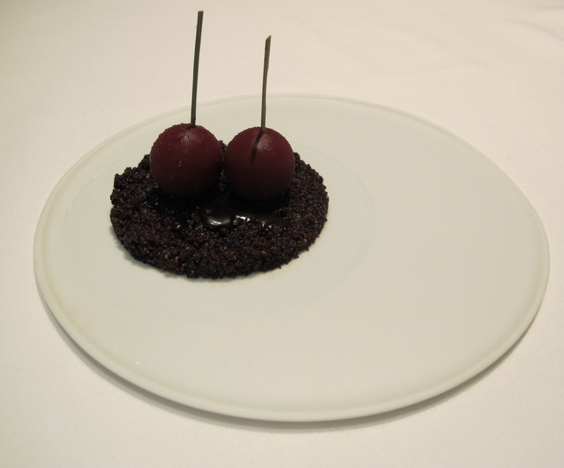 Dessert at Osteria Francescana in Modena