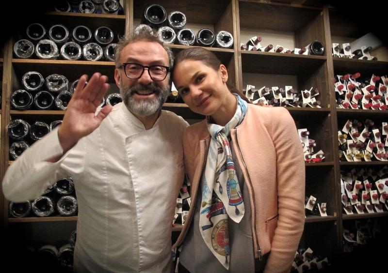 Italian chef Massimo Bottura