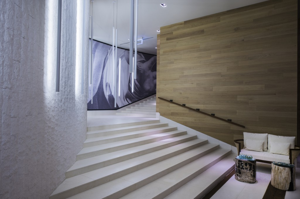 Chedi Andremat Spa Staircase to heaven