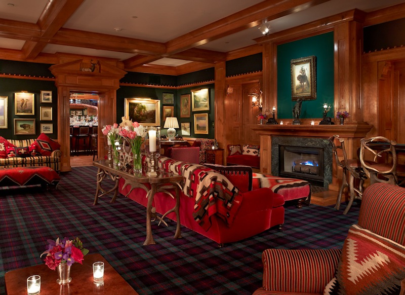 Caribou Private Club lounge room
