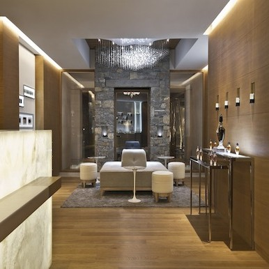 Guerlain spa at Cheval Blanc in Courchevel