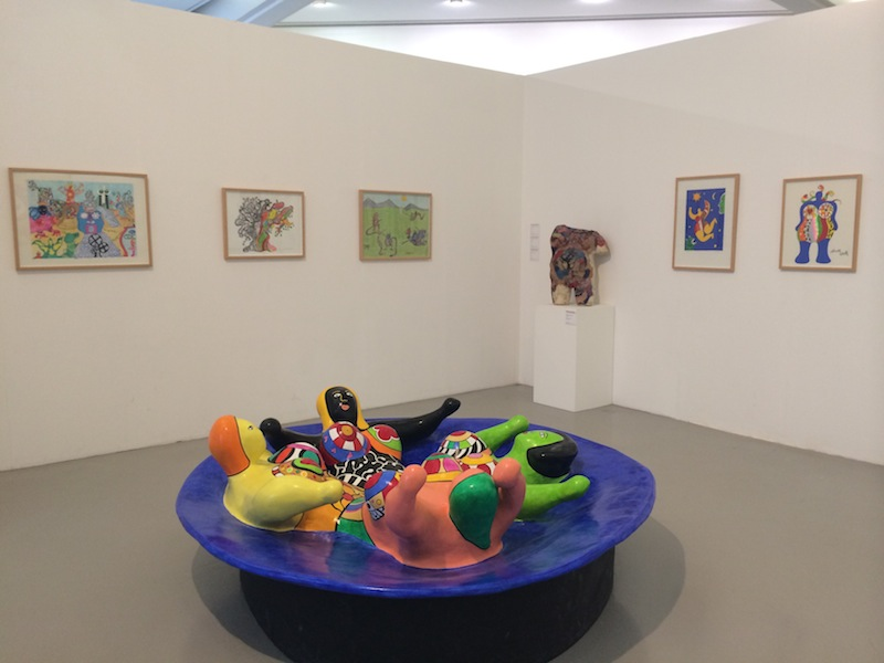 modern art at MAMAC in Nice