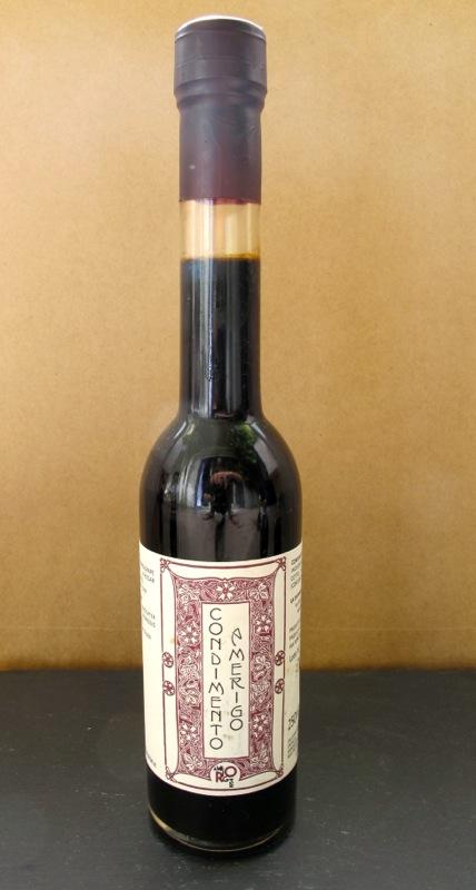 Balsamic vinegar condiment