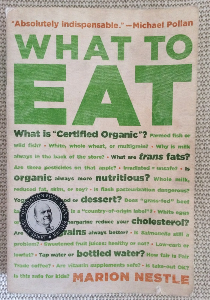 What to Eat book by Marion Nestle