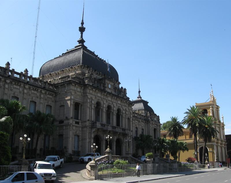 Mendoza Spanish architecture