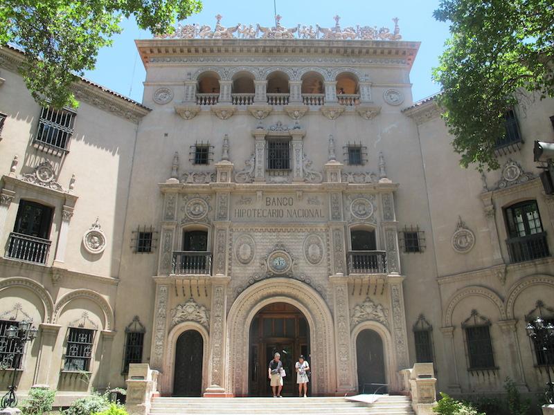 Mendoza's lavish architecture