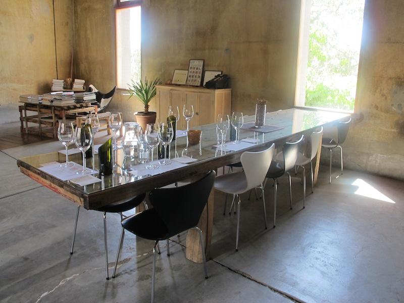Mendel wine tasting room