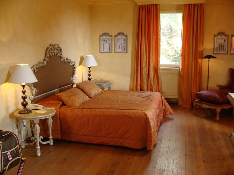Rooms at L´Andana hotel in Tuscany